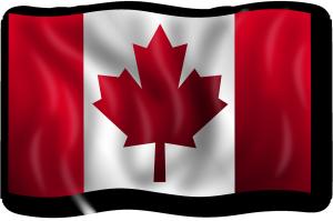 Canada flag citizenship oath