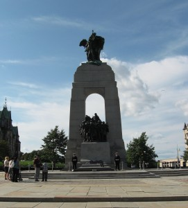 citizenship interview Ottawa War Memorial